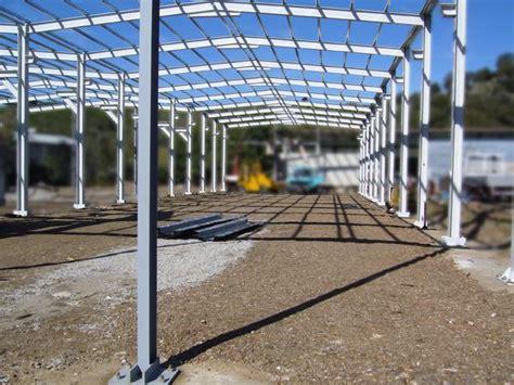 struttura capannone in ferro bruno acciai struttura capannone in ferro zincato