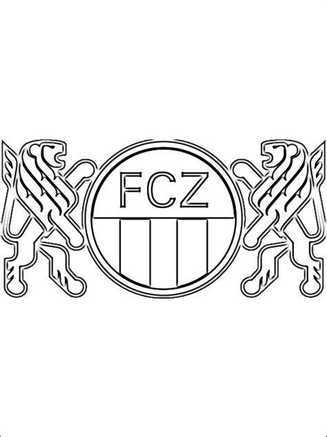 emblem of fc z 252 rich coloring page coloring pages