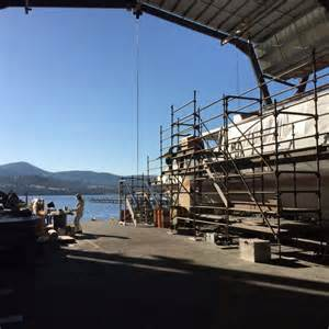 thames clipper incat hobart shipbuilder incat puts finishing touches to ferries