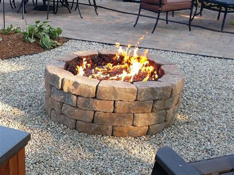 How To Build A Propane Fire Pit Ebay Propane Pit Diy