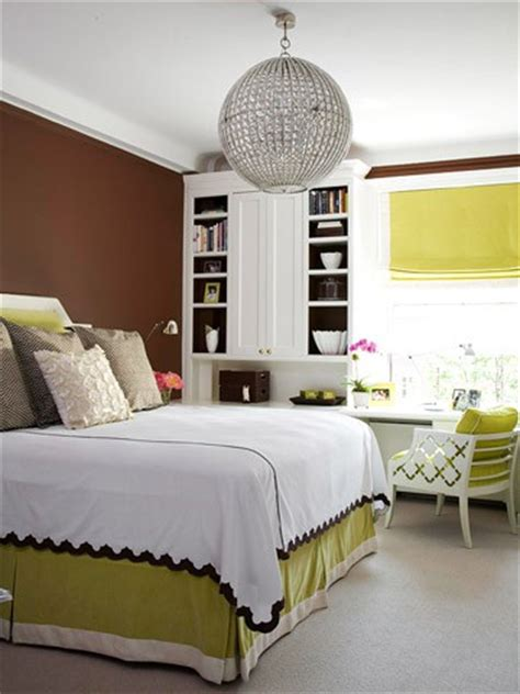 green and brown bedroom walls beautiful habitat happy colors lime and apple green