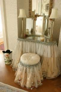 Tulle dressing table i am making a tulle skirt for a vintage dressing