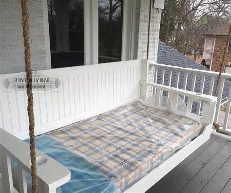 porch swing installation 27 best images about porch swing bed on pinterest