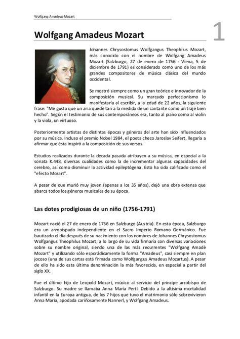 wolfgang amadeus mozart biography pdf mozart pdf