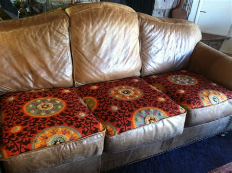 Reupholster Leather Cushions by Recover Attached Sofa Cushions Memsahebnet Insideout