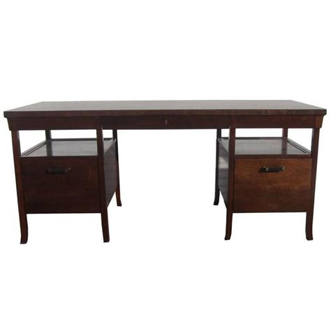 Baker Desk by Vintage Baker Bridger Library Desk By Bill Sofield For