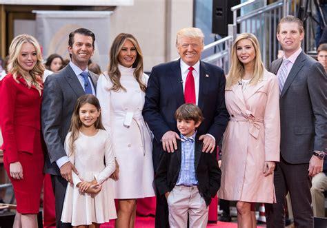 Famille Trump : qui sont les femmes et les enfants de