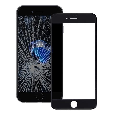 replacement for iphone 7 plus front screen outer glass lens with front lcd screen bezel frame
