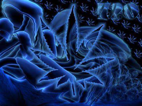 Blue Trippy Wallpaper