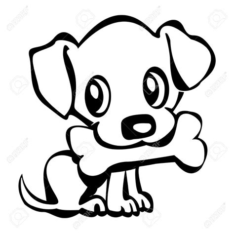 simple  drawing   dog   clip art