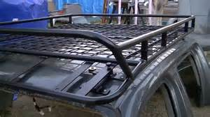 second nissan frontier roof rack customized for kc