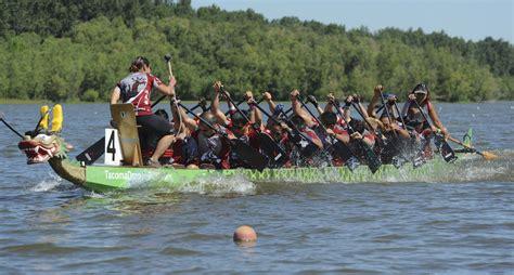 dragon boat racing how to dragon boat racing on vancouver lake the columbian