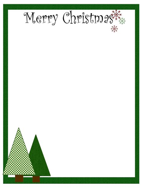 free printable christmas stationery candles 4 christmas