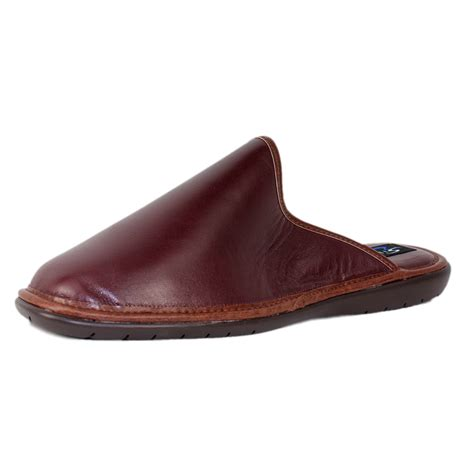 silentnight by heavenly concord mens leather mule