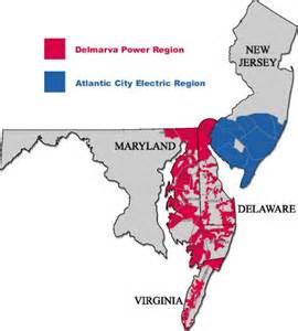delmarva power service territory map