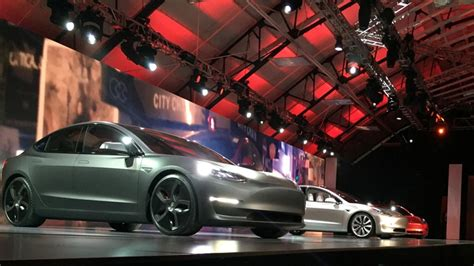 Tesla Motors Ticker Tesla S Model 3 Already Has 232 000 Pre Orders Your News