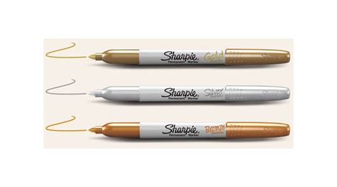 colored permanent markers sharpie metallic point permanent markers 3 markers