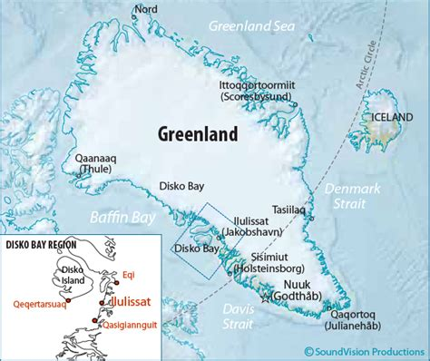 greenland map with cities map of greenland cities search maps