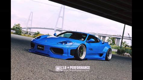 Ferrari 360 Tuning by Dia Show Tuning Liberty Walk Ferrari 360 Modena Widebody