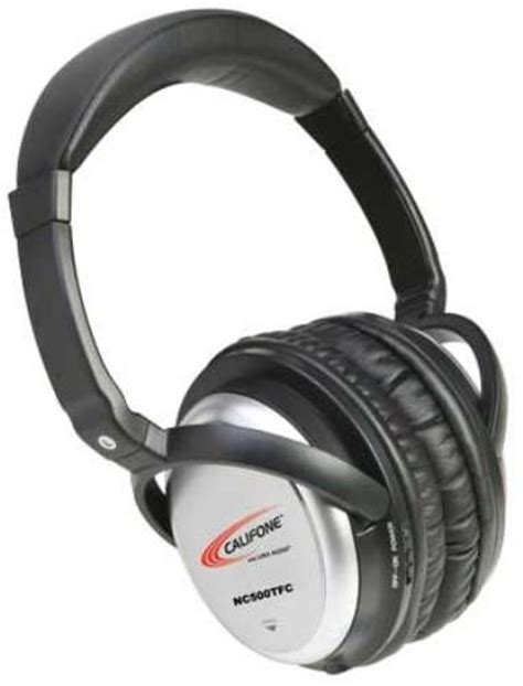Most Comfortable Noise Cancelling Headphones by Califone Nc500tfc Active Noise Cancelling Headphones