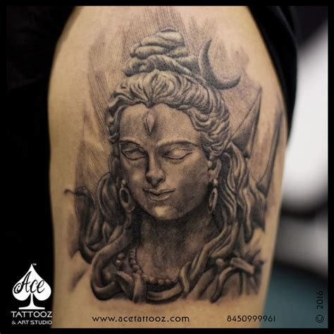 lord shiva tattoos ace tattooz amp art studio mumbai india