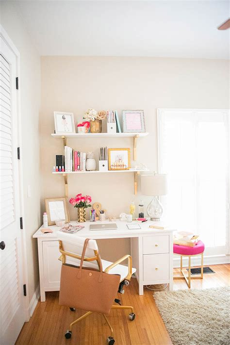 desk for small office space how to make a small office space work the fashionista s