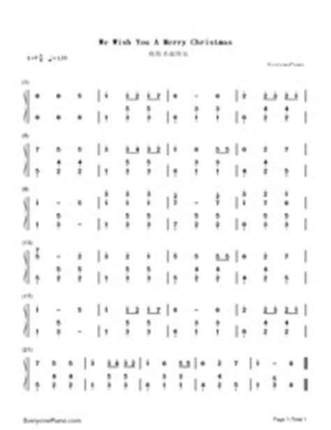merry christmas  piano sheet  piano chords