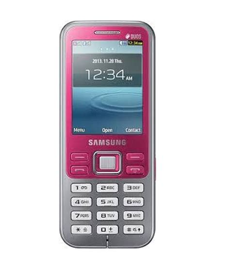 Samsung B310e Duos samsung metro duos gt c3322i mobile phone pink price in india buy samsung metro duos gt