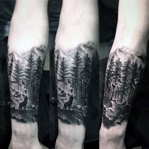 best 25 forest forearm tattoo ideas on pinterest forest