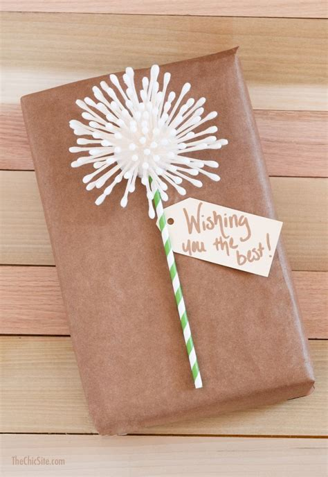 How To Make Birthday Presents Out Of Paper - creative gift wrap ideas