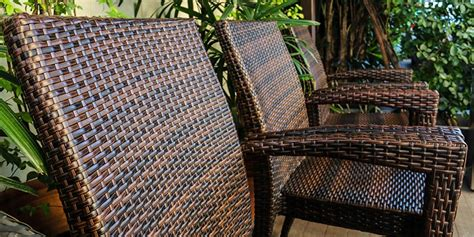 types of wicker furniture natural wicker vs synthetic resin wicker furniture