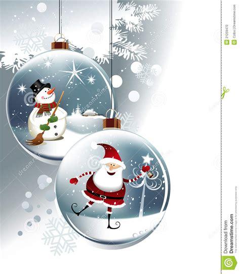 funny christmas balls stock vector illustration  decoration