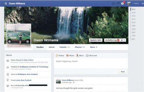 design background facebook page facebook tests new timeline designs like page button