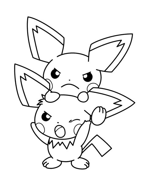pikachu coloring pages pdf pokemon coloring pages pdf coloring home