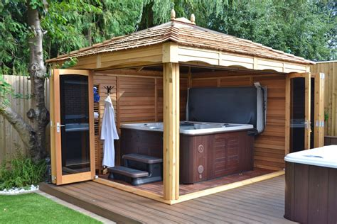 Plans For Garden Sheds by Tub And Garden Gazebos And Swim Spa Gazebos