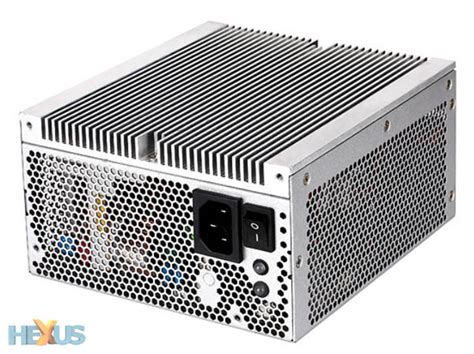 alimentatori fanless silverstone releases passively cooled 500w psu to market