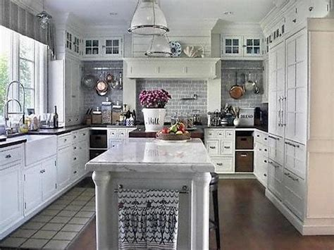 white paint  kitchen cabinets home furniture design