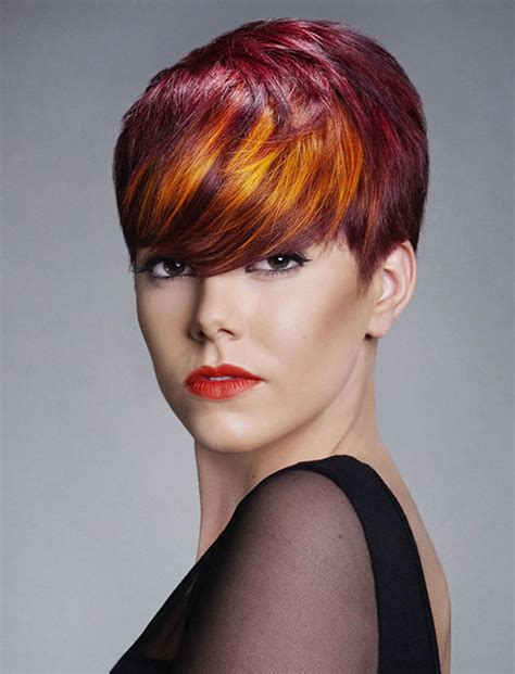 hairstyles and color short red hair color for short hairstyles 27 cool haircut