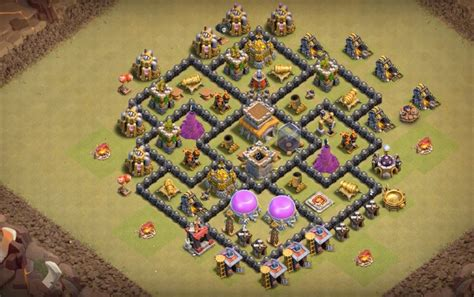 hd town hall 7 hd town hall 7 16 th7 to th11 farming trophy war base