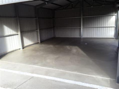 concrete garage shed floors   Adelaide Concrete
