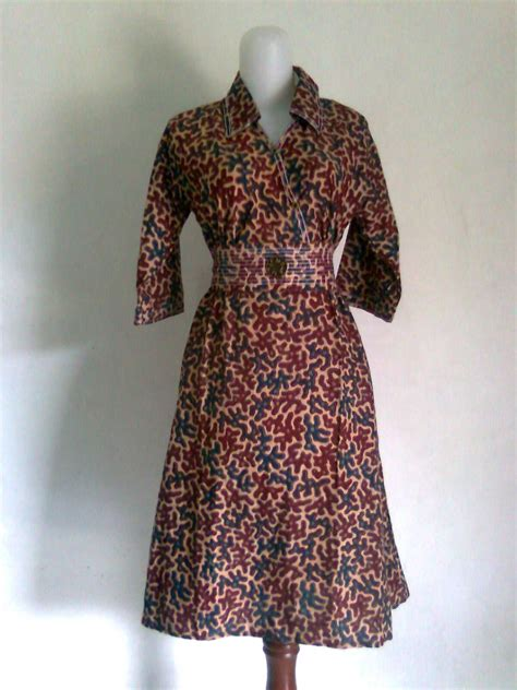 22 model baju gamis batik kombinasi modern dan trendy model baju 2014 terbaru pria wanita pusat baju batik