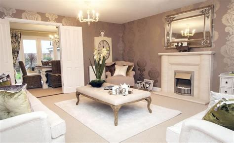 mauve living room david wilson homes in worcestershire fabulous luxurious and living room in a