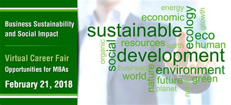 Social Sustainable Mba Csu by Fair Details