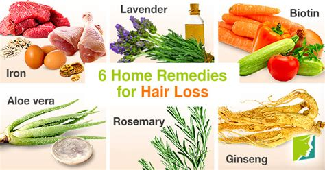 home remedies for hair loss for over 50 natural hair loss remedies
