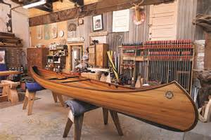 swanson woodworking a wooden canoe built by nick offerman popular science