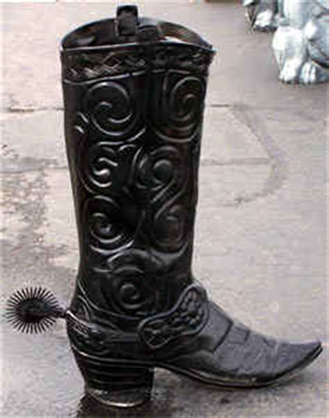 Large Cowboy Boot Planter by Western Decor