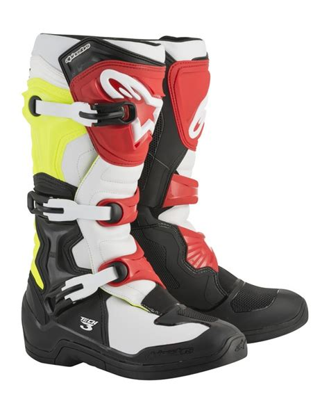 alpinestars tech 3 motocross boots alpinestars tech 3 motocross boots black white yellowflo