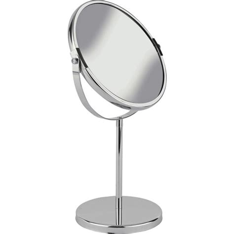 bathroom mirror online shopping buy simple value round chrome bathroom mirror at argos co