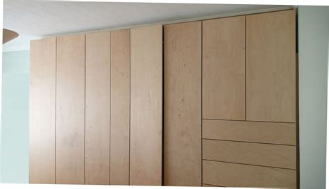 Large Bedroom Wardrobes How To Build Your Own Fitted Wardrobe And Also How Not To
