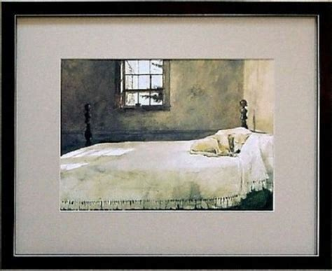master bed painting dog that wyeth dog things to get pinterest master bedrooms who yellow lab on bed painting in our bedroom our house